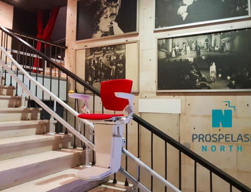 Εγκατάσταση Ανελκυστήρα Σκάλας Αθήνα Otolift Two Θέατρο Καρέζη