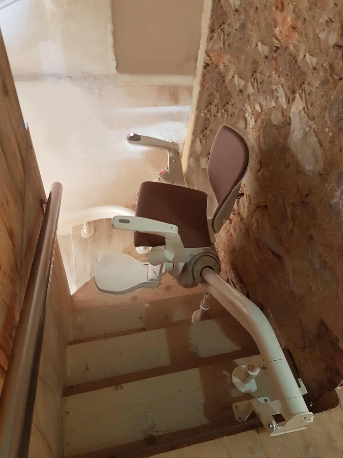 Ανελκυστήρας Σκάλας Μάνη Πελοπόννησος εγκατασταση